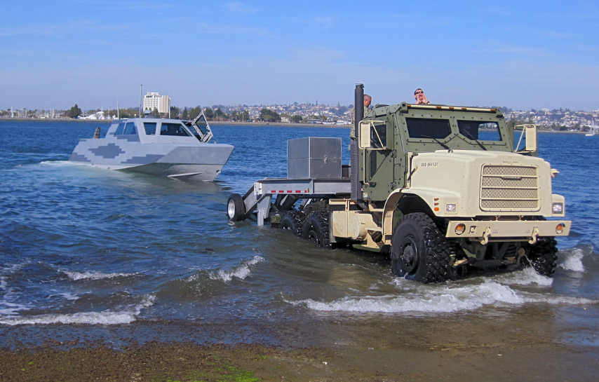 Maritime Combatant Craft Trailer Brake Corrosion Mitigation